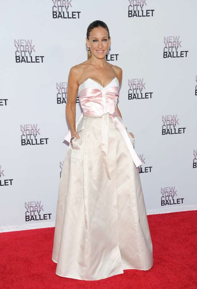 Actress Sarah Jessica Parker attends the New York City Ballet 2013 Fall gala at Lincoln Center on Thursday, Sept. 19, 2013 in New York. (Photo by Evan Agostini/Invision/AP) Photo: Evan Agostini, Associated Press