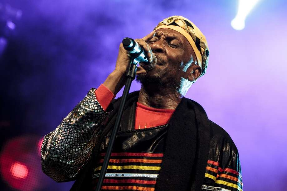 Jimmy Cliff performs at the Beatherder Festival 2013 at Ribble Valley on July 6, 2013 in Clitheroe, England. He will be at the Ridgefield (Conn.) Playhouse on Sept. 24, 2013. http://www.ridgefieldplayhouse.org  (Photo by Andrew Benge/Redferns via Getty Images) Photo: Andrew Benge, Redferns Via Getty Images