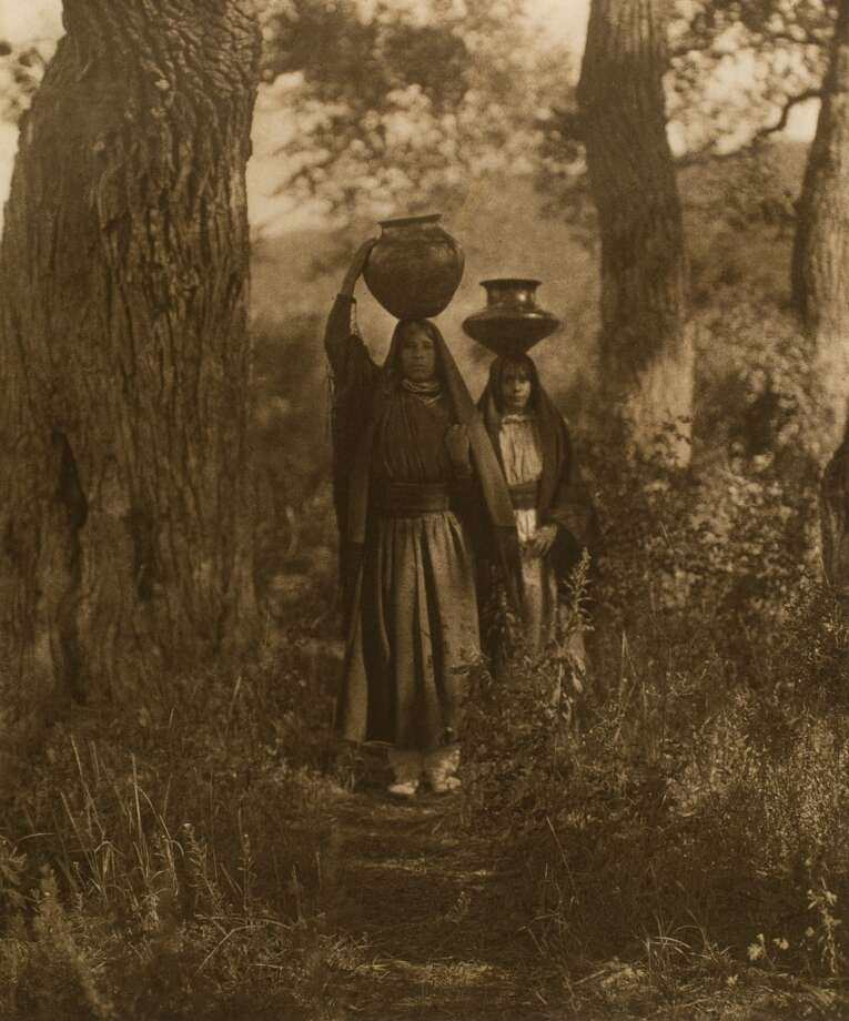 "See works of Native American art and images of the women who made them in ""By Her Hand: Art of Native American Women & the Photographs of Edward S. Curtis,"" on view at Stamford Museum & Nature Center in Stamford, Conn., through Dec. 1, 2013. Photo: Contributed Photo"
