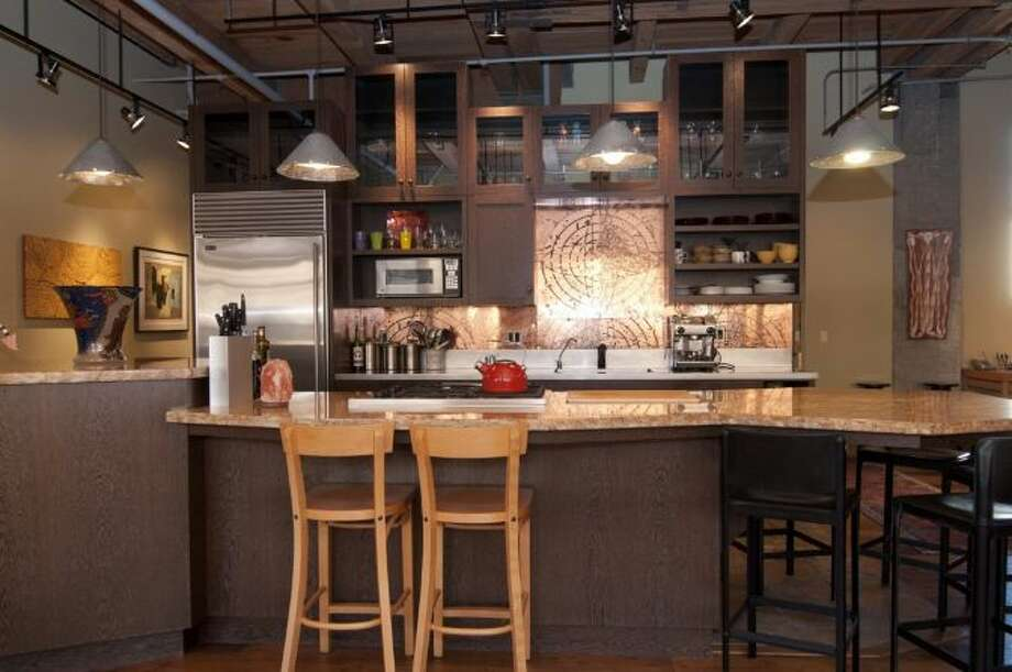 Kitchen of 1100 E. Union, Unit 2d. It's listed for $849,000. Photo: Courtesy Katharine Gibson, Windermere Real Estate
