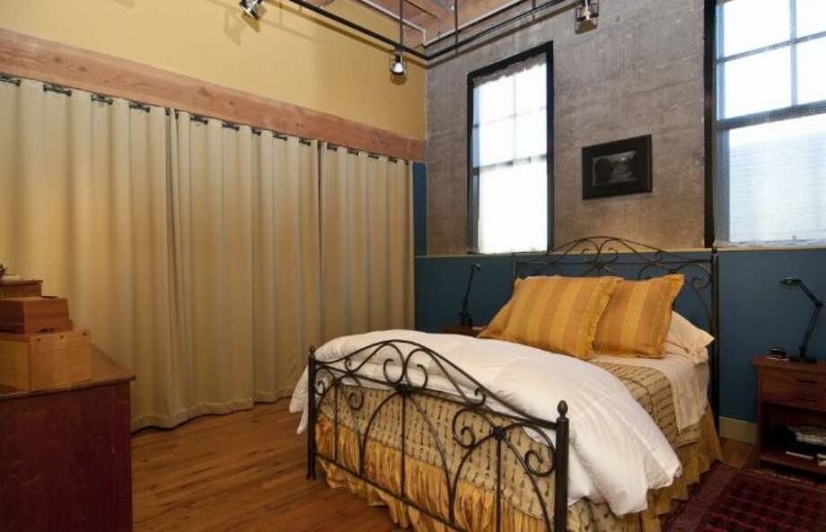 Bedroom of 1100 E. Union, Unit 2d. It's listed for $849,000. Photo: Courtesy Katharine Gibson, Windermere Real Estate