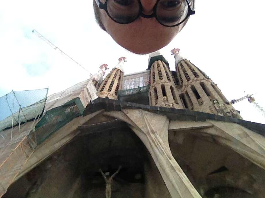 Gaudi's Sagrada Familia, Barcelona.