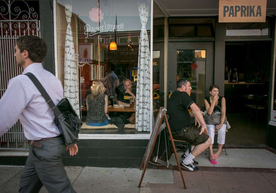 The exterior of Paprika in San Francisco Photo: John Storey, Special To The Chronicle