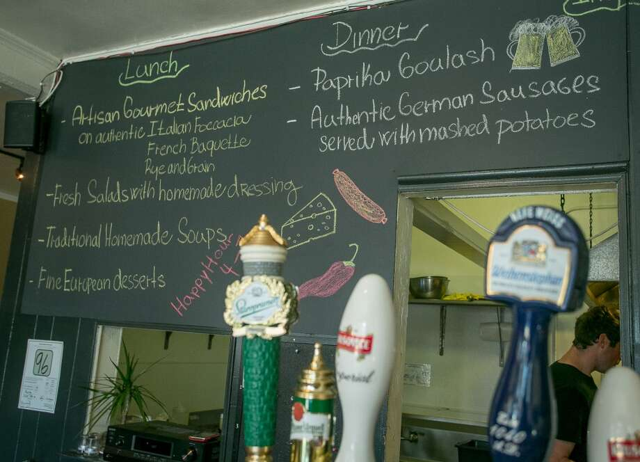 Beer taps and the menu at Paprika in San Francisco. Photo: John Storey, Special To The Chronicle