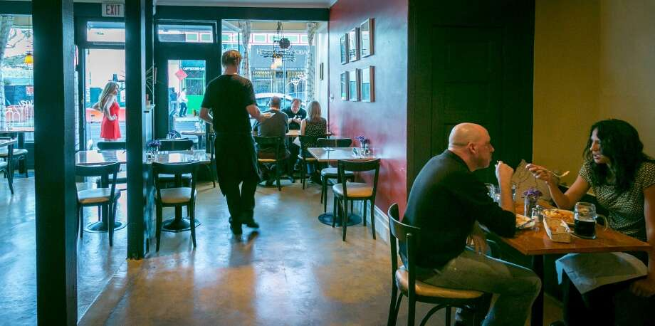 The interior of Paprika in San Francisco. Photo: John Storey, Special To The Chronicle