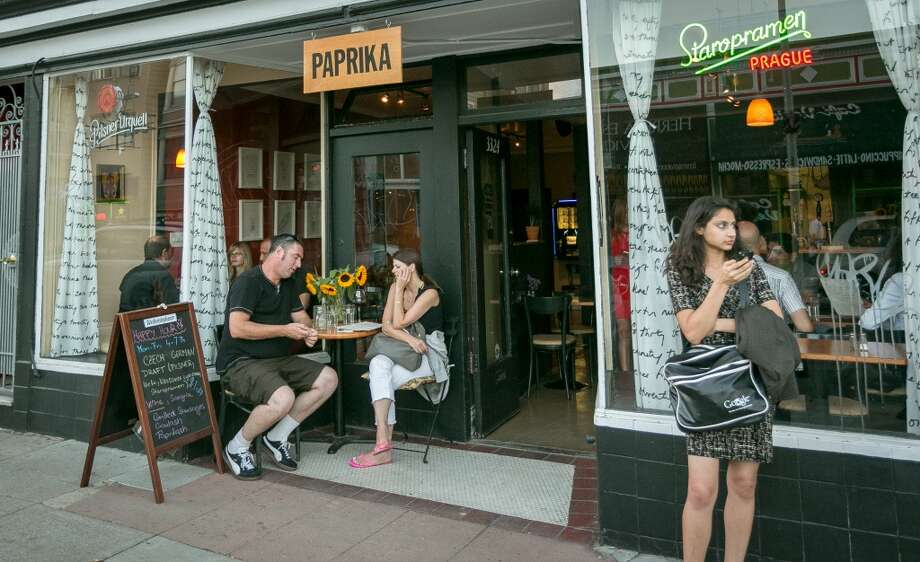 The exterior of Paprika in San Francisco. Photo: John Storey, Special To The Chronicle