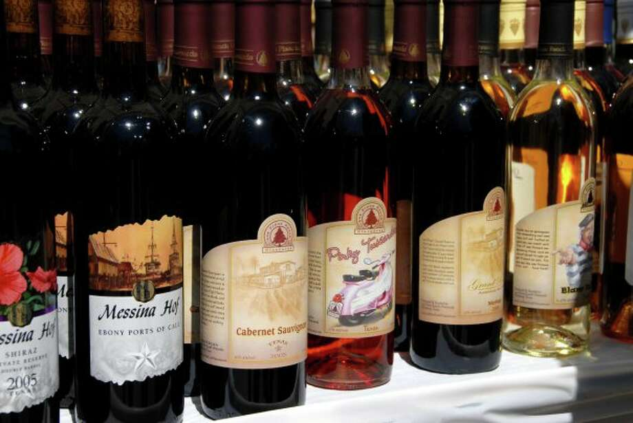 The Autumn Art and Texas Wine Festival in Spring highlights products from Texas vineyards. Photo: Provided By Puffabellys's Old Depot Restaurant And Silver Eagle Distributors