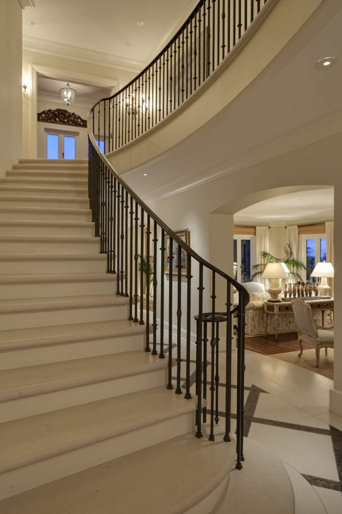 Foyer of a 1933 mansion at an undisclosed address on Queen Anne hill. It's listed for $11.5 million.