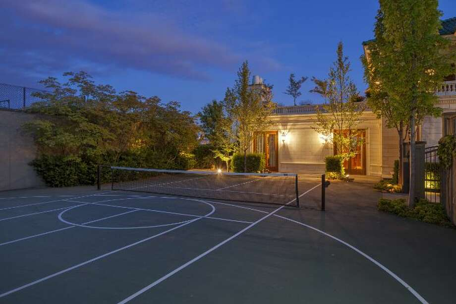 Sport court of a 1933 mansion at an undisclosed address on Queen Anne hill. It's listed for $11.5 million. Photo: Courtesy Patrick Chinn, Windermere Real Estate