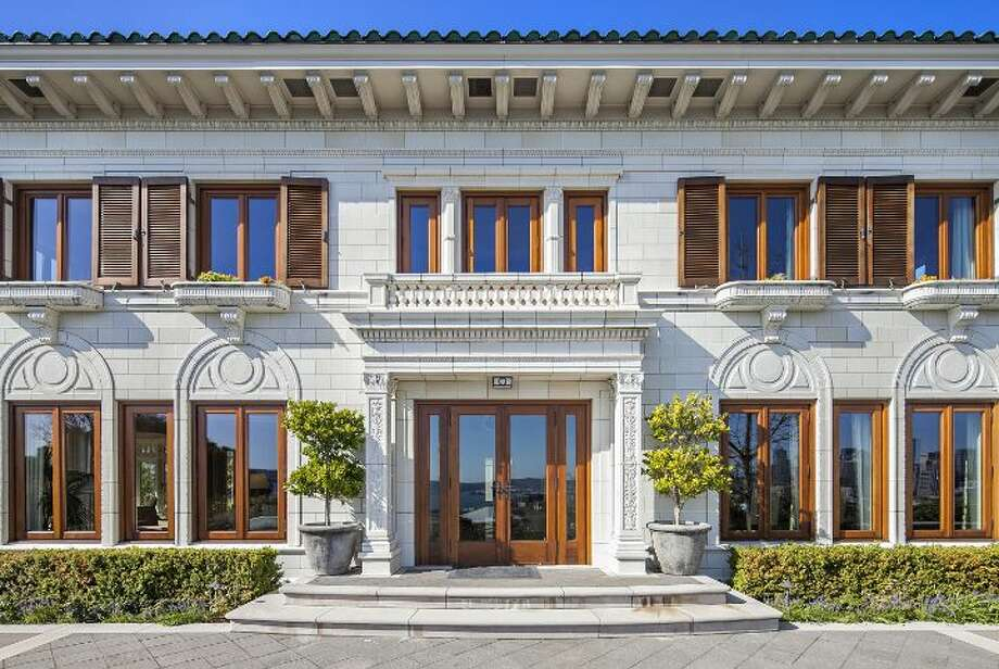 Exterior of a 1933 mansion at an undisclosed address on Queen Anne hill. It's listed for $11.5 million. Photo: Courtesy Patrick Chinn, Windermere Real Estate
