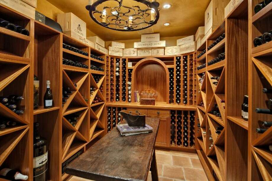 Wine room a 1933 mansion at an undisclosed address on Queen Anne hill. It's listed for $11.5 million. Photo: Courtesy Patrick Chinn, Windermere Real Estate