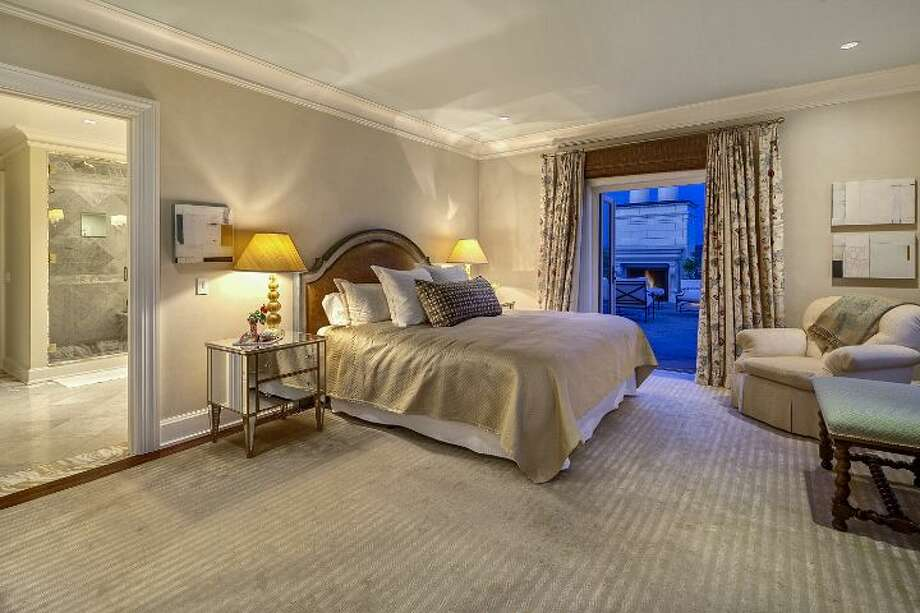 Master bedroom of a 1933 mansion at an undisclosed address on Queen Anne hill. It's listed for $11.5 million. Photo: Courtesy Patrick Chinn, Windermere Real Estate