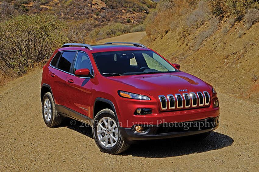 2014 Jeep Cherokee (photo by Dan Lyons)