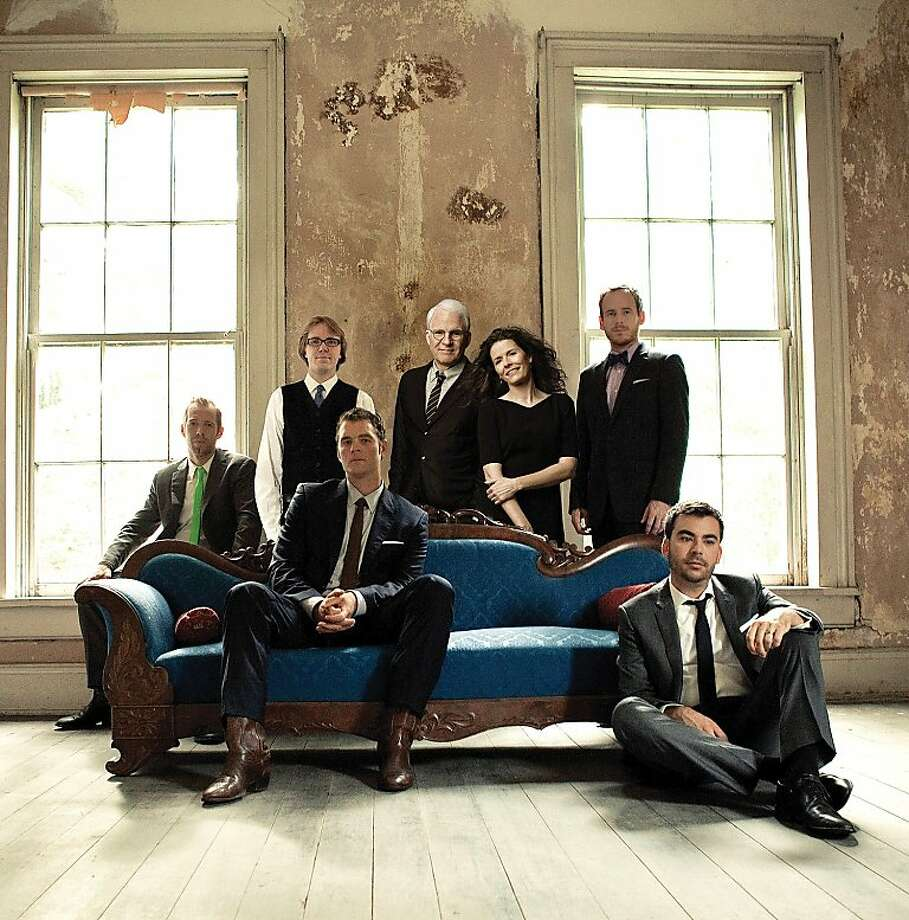In the HSB lineup: Steve Martin and the Steep Canyon Rangers, featuring Edie Brickell. Photo: Rounder Records