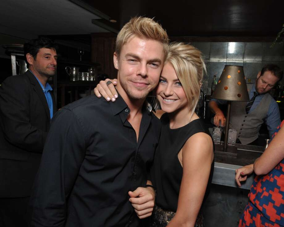 From left, Derek Hough and Julianne Hough attend The Hollywood Reporter celebration of the Emmy nominees and new fall TV season presented by Samsung Galaxy, Asos, Porsche, Pandora and Ketel One, on Thursday, Sept. 19, 2013, at Soho House in West Hollywood, Calif. (Photo by John Shearer/Invision for THR/AP Images) Photo: John Shearer, Associated Press