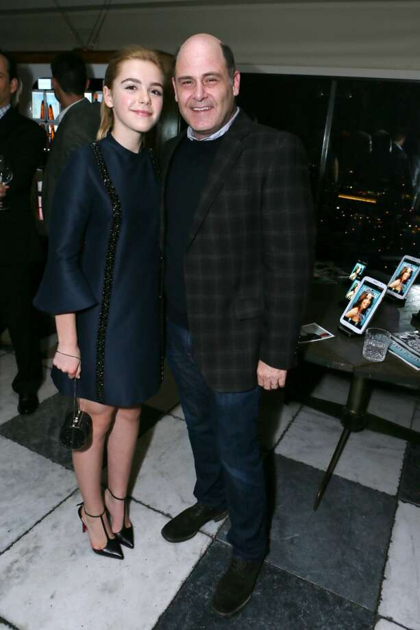 From left, Kiernan Shipka and Matthew Weiner attend The Hollywood Reporter celebration of the Emmy nominees and new fall TV season presented by Samsung Galaxy, Asos, Porsche, Pandora and Ketel One, on Thursday, Sept. 19, 2013, at Soho House in West Hollywood, Calif. (Photo by Alexandra Wyman/Invision for THR/AP Images) Photo: Alexandra Wyman, Associated Press