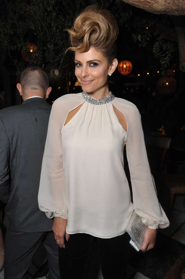 Maria Menounos attends The Hollywood Reporter celebration of the Emmy nominees and new fall TV season presented by Samsung Galaxy, Asos, Porsche, Pandora and Ketel One, on Thursday, Sept. 19, 2013, at Soho House in West Hollywood, Calif. (Photo by John Shearer/Invision for THR/AP Images) Photo: John Shearer, Associated Press
