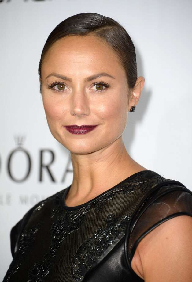 Model/actress Stacy Keibler arrives at The Hollywood Reporter's Emmy Party at Soho House on September 19, 2013 in West Hollywood, California.  (Photo by Frazer Harrison/Getty Images) Photo: Frazer Harrison, Getty Images