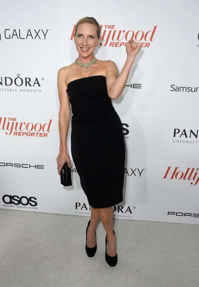 Actress Anne Heche  arrives at The Hollywood Reporter's Emmy Party at Soho House on September 19, 2013 in West Hollywood, California.  (Photo by Frazer Harrison/Getty Images) Photo: Frazer Harrison, Getty Images