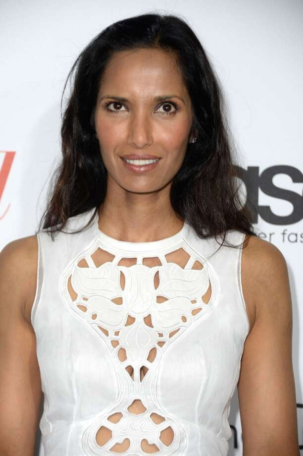 Television personality Padma Lakshmi  arrives at The Hollywood Reporter's Emmy Party at Soho House on September 19, 2013 in West Hollywood, California.  (Photo by Frazer Harrison/Getty Images) Photo: Frazer Harrison, Getty Images