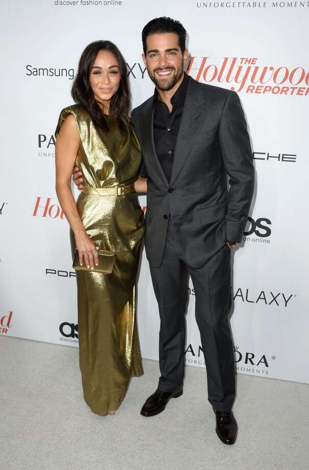 Actress Cara Santana and actor Jesse Metcalfe arrives at The Hollywood Reporter's Emmy Party at Soho House on September 19, 2013 in West Hollywood, California.  (Photo by Frazer Harrison/Getty Images) Photo: Frazer Harrison, Getty Images