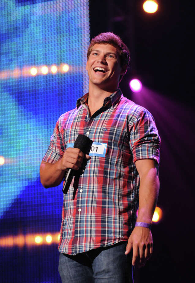 THE X FACTOR: Contestant Andrew Scholz pefrorms in front of the Judges on THE X FACTOR airing Thursday, Sep. 19 (8:00-10:00 PM ET/PT) on FOX. CR: Richard Ellis / FOX. © Copyright 2013 / FOX.