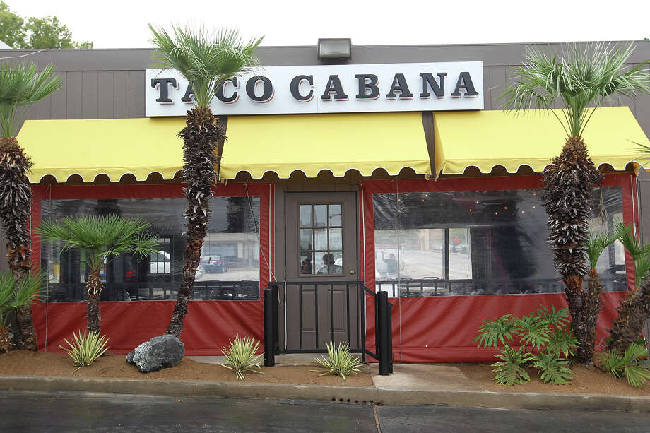 Taco Cabana is celebrating its 35th anniversary Sept. 21 with a grand re-opening of the company's first location at San Pedro and Hildebrand, which has been renovated to look like it did in 1978. Updates include a new exterior with retro signage and awnings, a new interior and a wall commemorating the 35-year history of the first Taco Cabana restaurant. The grand re-opening  includes a fiesta event, a visit from the family of Taco Cabana's founder, Felix Stehling, and 35-cent bean and cheese tacos, offered from Sept. 21-22 at all locations. Photo: JERRY LARA, San Antonio Express-News / © 2013 San Antonio Express-News