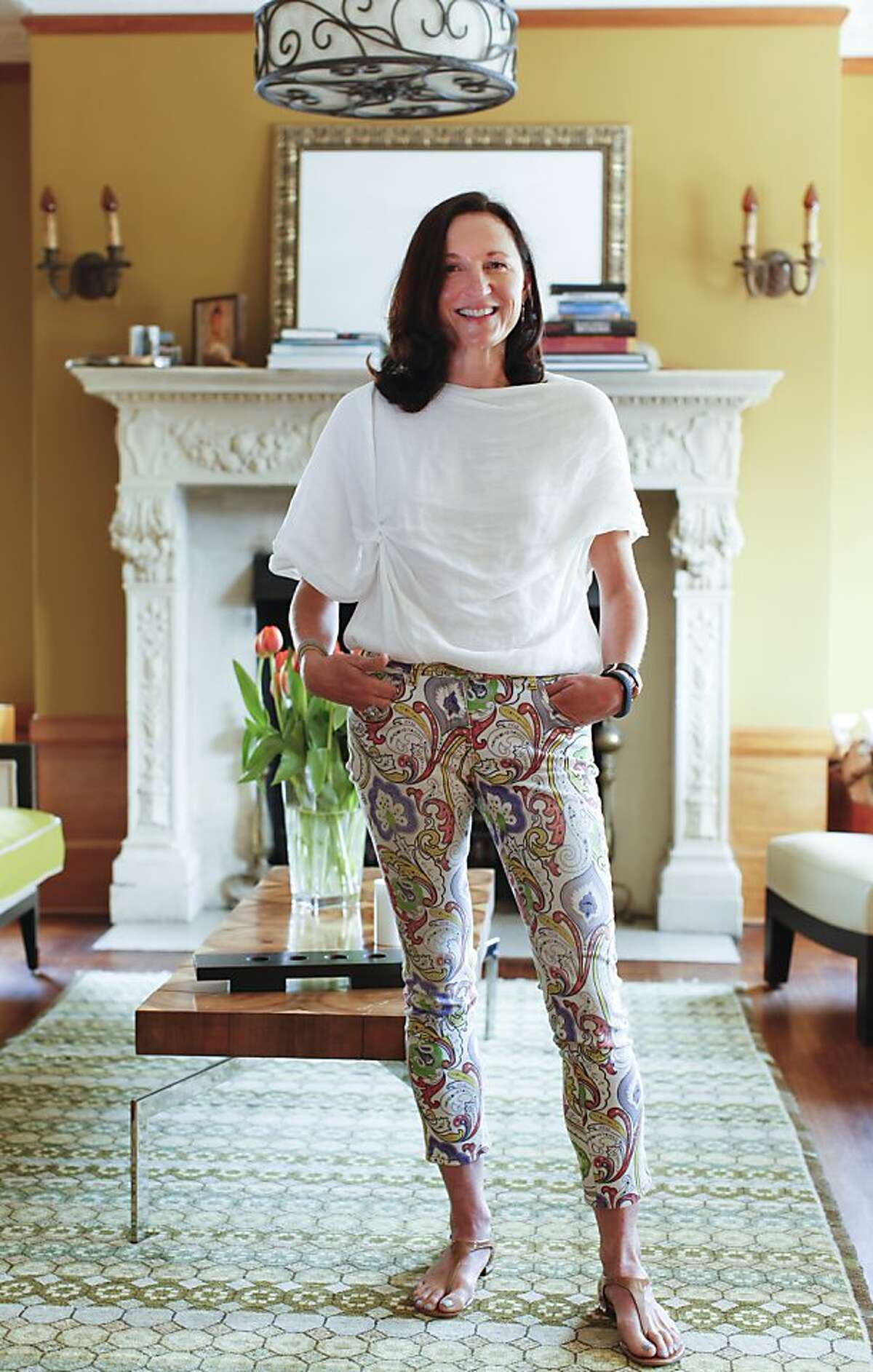 Margit Wennmachers, a venture capitalist at Andreessen Horowitz, is seen in her San Francisco, Calif., home on Wednesday, July 3, 2013.