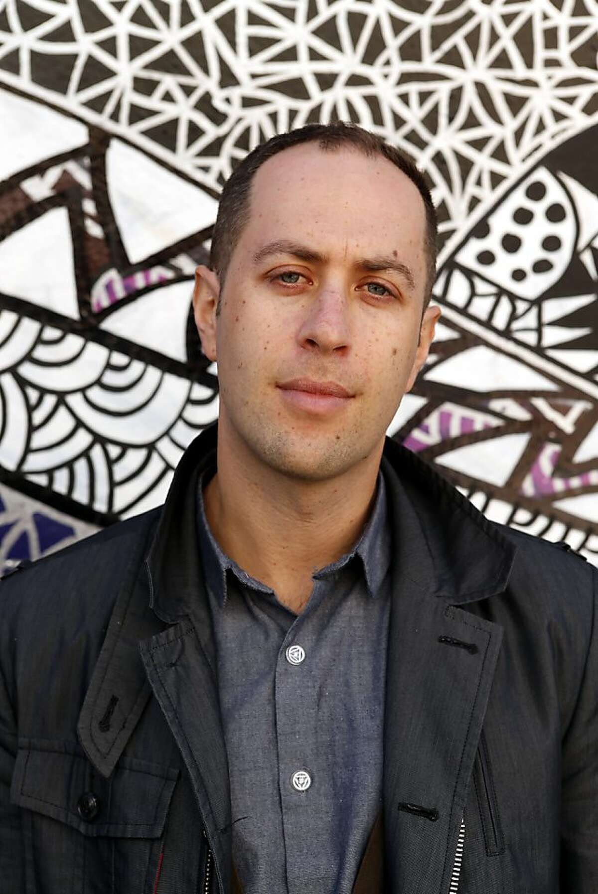 """Berkeley author Adam Mansbach, who had the #1 NYT best seller """"Go the F**K to Sleep,"""" has now written a novel, """"Rage is Back,"""" set in the graffiti world of New York. Mansbach photographed on Tuesday, January 30, 2013 in San Francisco, Calif."""
