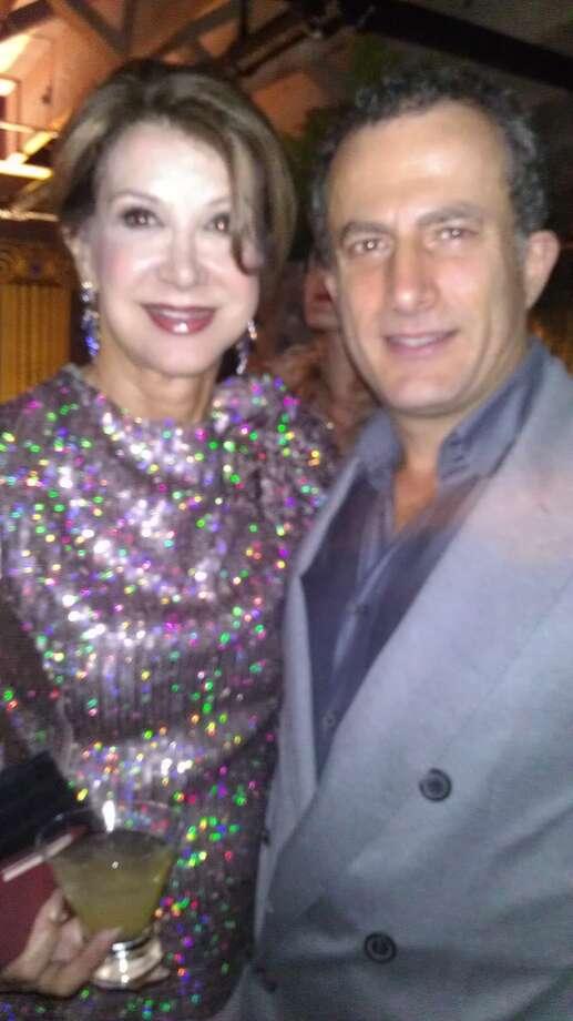 Philanthropist Lonna Wais and Jorge Maumer. Photo: Carolyne Zinko, The Chronicle