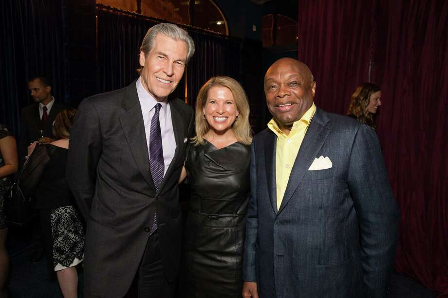 Terry Lundgren, Tina Lundgren and Willie Brown at Macy's Passport Presents Glamorama at the Orpheum Theatre on September 19, 2013. Photo: Drew Altizer Photogaphy / © 2013 Drew Altizer
