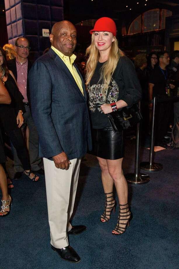 Willie Brown and Sonya Molodetskaya at Macy's Passport Presents Glamorama at the Orpheum Theatre on September 19, 2013. Photo: Drew Altizer Photogaphy / © 2013 Drew Altizer