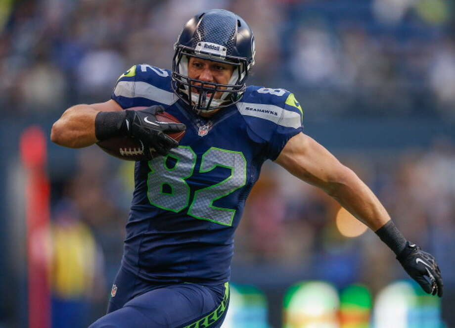 3. Luke Willson and the overall depthSo far this year, Seattle's No. 2 tight end, rookie Luke Willson, has not exactly impressed. In 44 snaps over the past two games, he has struggled blocking for the run and has been a non-threat as a receiver, being targeted just once. The rookie draftee out of Rice won the backup TE job in the preseason but has yet to prove his worth, though he has been recovering from an oblique injury that sparked Pete Carroll and GM John Schneider to sign TE Kellen Davis for added depth.   With an opponent like Jacksonville, the Seahawks could very well be sending in their second- and third-stringers by the fourth quarter. As such, guys like Willson and receiver Stephen Williams could see more playing time Sunday. There are also linebacker John Lotulelei, defensive end Benson Mayowa, and the aforementioned Alvin Baley and Michael Bowie. Heck, we might even get a taste of quarterback Tarvaris Jackson again. Keep an eye on the backups and how well they perform. Photo: Otto Greule Jr, Getty Images / 2013 Getty Images