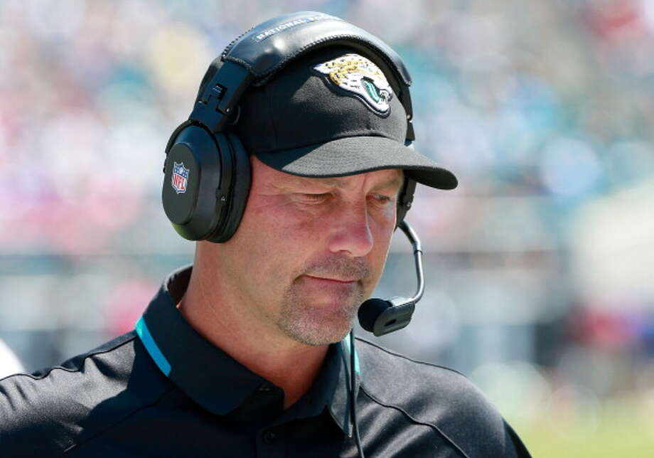 5. Gus Bradley and the other former SeahawksJags head coach Gus Bradley is a familiar face in Seattle, where he was the defensive coordinator from 2009 through last year. His work with the Seahawks earned him a job offer from Jacksonville, and he understandably was quick to accept in January. But he faces a huge challenge as the leader and figurehead of the Jaguars, who remain in the basement of the NFL. Many Seahawks fans are already (and perhaps jumping the gun) feeling bad for Bradley's first return to CenturyLink Field, where he is expected to be blown out. Yet in stark contrast to their attitude toward coach Jim Harbaugh and the 49ers, Seahawks fans have a soft spot for Bradley.  Jacksonville has a few other notable former Seahawks. Maurice Jones-Drew's backup running back is Justin Forsett, who played nearly four whole years in Seattle as a kick-returner and halfback. Also on the Jags' active roster are three players who didn't make the Seahawks this year: cornerback Will Blackmon, safety Winston Guy and linebacker Kyle Knox. They competed for Seahawks roster spots in training camp and the preseason, but fell victim to Pete Carroll's final round of cuts. The Jags quickly snatched them up.  (There are eight other players who tried out for the Seahawks yet found jobs with other teams.  Wide receiver and fourth-round pick Chris Harper went to the 49ers, though he was inactive last Sunday.  Defensive tackle Jaye Howard, tight end Sean McGrath and cornerback Ron Parker are now all on the Kansas City Chiefs. Quarterback Brady Quinn is now with the New York Jets, offensive tackle Mike Person plays for St. Louis, guard John Moffitt was traded to Denver and linebacker Allen Bradford went to New England.) Photo: Sam Greenwood, Getty Images / 2013 Getty Images