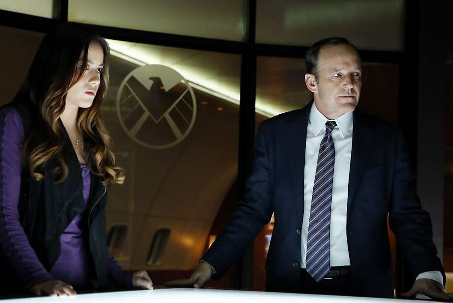 "Chloe Bennet is computer genius Skye and Clark Gregg is Agent Phil Coulson in ""Marvel's Agents of S.H.I.E.L.D."" Photo: Justin Lubin, ABC"