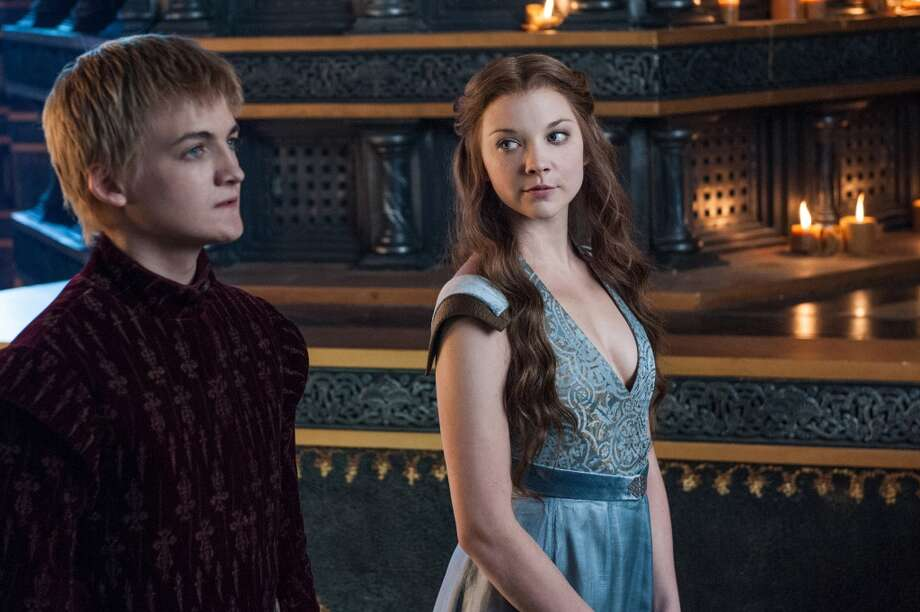 Favorite scary couple? Jack Gleeson, left, as Joffrey Baratheon, and Natalie Dormer, right, as Margaery Tyrell, in Season 3. Photo: DAMIEN ELLIOTT