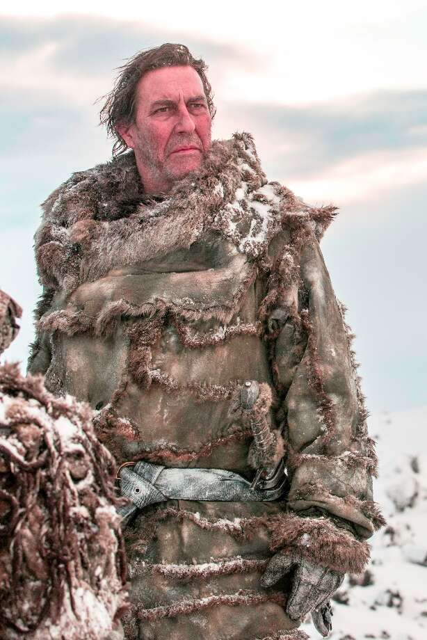 Ciaran Hinds lived beyond the wall as Mance Rayder. Photo: Helen Sloan, HBO / HBO
