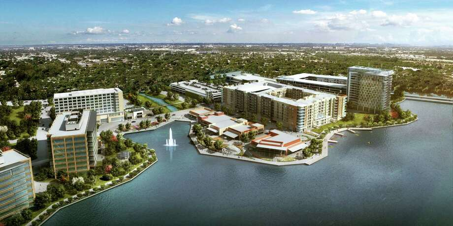 Development in The WoodlandsThe first Hughes Landing building will open to its tenants next year as the second tower goes under construction.Story: The Woodlands completes first building in Hughes Landing
