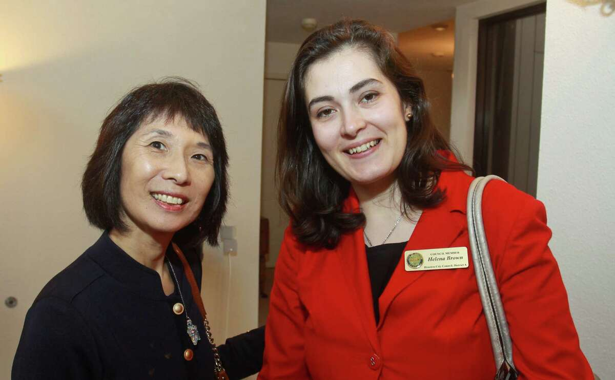 (For the Chronicle/Gary Fountain, June 19, 2012) Linda Toyota, left, and Helena Brown.