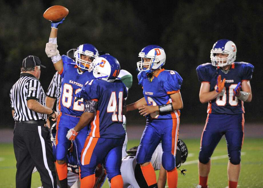 Photos from the FCIAC high school football game between Danbury and Norwalk at Danbury High School in Danbury, Conn. on Friday, Sept. 20, 2013. Photo: Tyler Sizemore / The News-Times