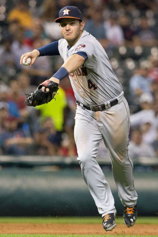 Sept. 20: Indians 2, Astros 1 (7)Three errors committed by the Astros contributed to this rain-shortened loss to Cleveland.  Record: 51-103. Photo: Jason Miller, Getty Images