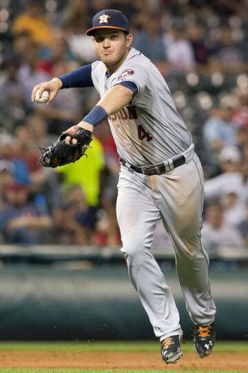 Sept. 20: Indians 2, Astros 1 (7)  Three errors committed by t