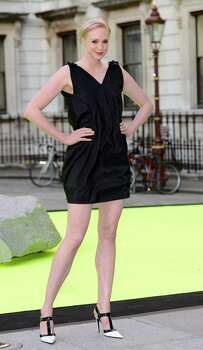 "Here's a look at the 6'3"" actress Gwendoline Christie at a Royal Academy of Arts party in London in 2013. Photo: Karwai Tang, Getty Images"