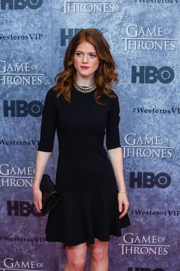 Rose Leslie still looks fierce even when she's out of character. Photo: Mat Hayward, Getty Images
