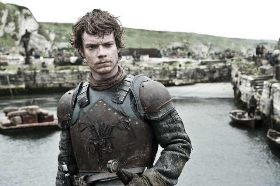 Alfie Allenas Theon Greyjoy in 'Game of Thrones.' Photo: HBO / HBO