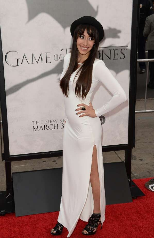 Oona Chaplin looking full of life on the red (wedding?) carpet. Photo: Jason Merritt, Getty Images