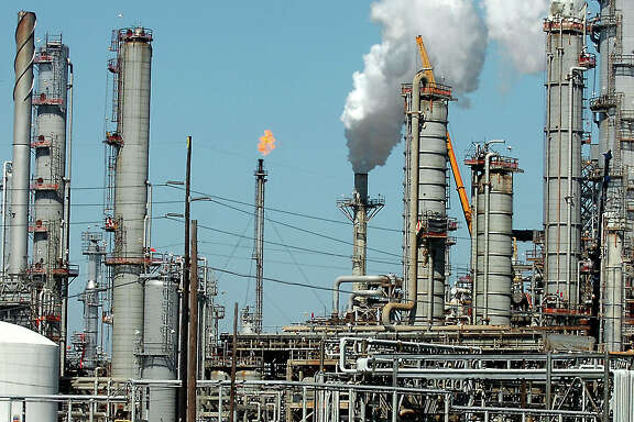 Total Refinery plans on investing in a 2.2 billion dollar expansion project at the refinery in Port Arthur, TX Wednesday, February 13, 2008. Tammy McKinley / Beaumont Enterprise