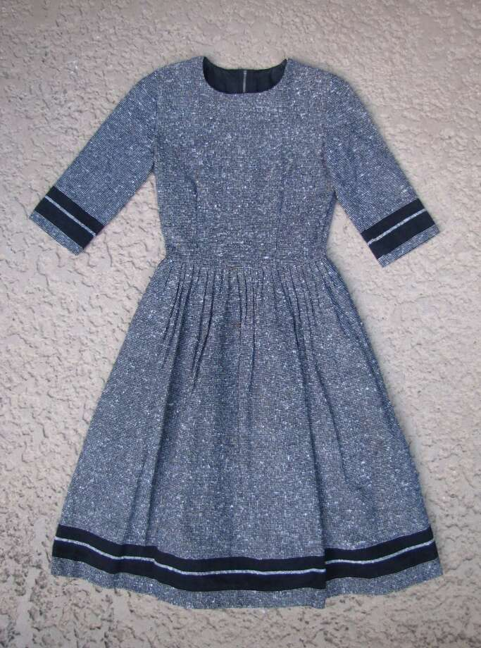 Vintage wool dress, Treasure House, Beaumont, $25 Photo: Cat5