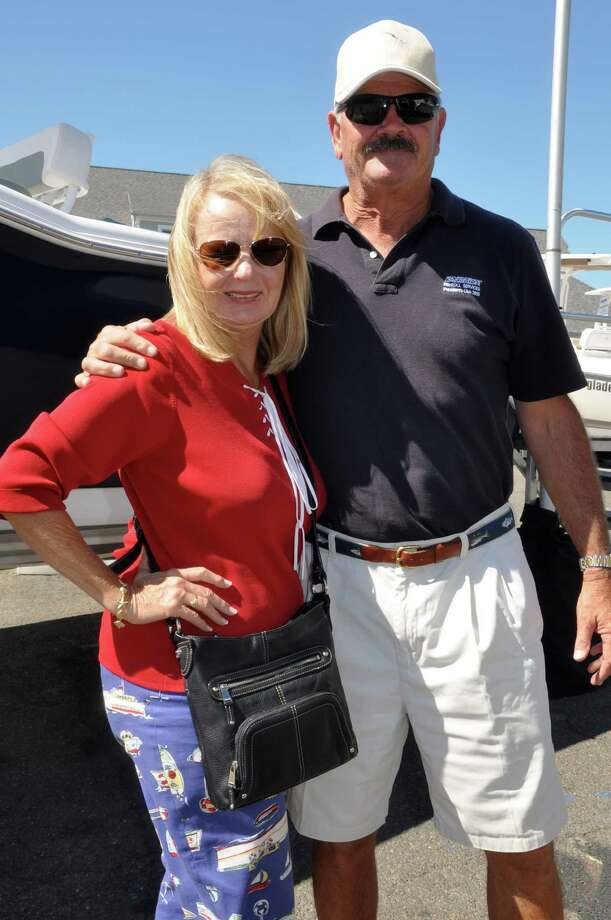Were you SEEN at the Norwalk Boat Show? Photo: Valerie Stryker / Hearst Connecticut Media Group