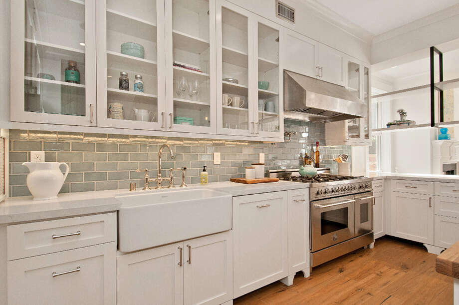 A closer look at the home's kitchen. Photo: OpenHomesPhotography.com